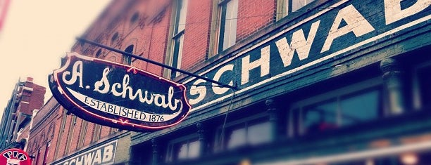 A. Schwab's Dry Goods Store is one of Places to visit.