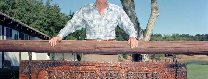 Rancho Del Cielo - The Reagan Ranch is one of Retro Campaigns's tips.