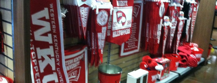 WKU Store is one of Bowling Green, Kentucky Attractions.