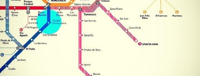 Metro - Ciudad Universitaria is one of Sistema Metro de Caracas - Linea 3.