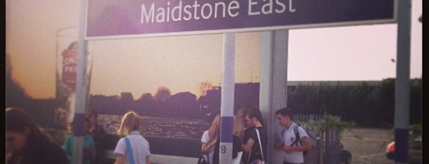 Maidstone East Railway Station (MDE) is one of Railway Stations in UK.