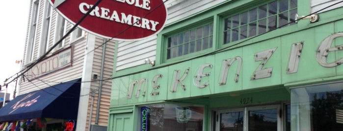 Creole Creamery is one of DINERS DRIVE-IN & DIVES 3.