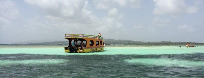 Nylon Pool is one of Tobago.