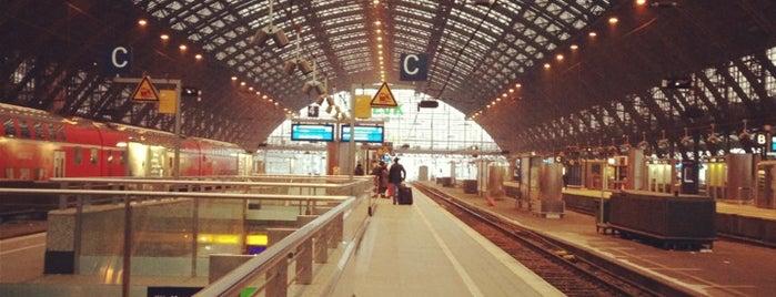 Cologne Main Railway Station is one of Mein Deutschland.