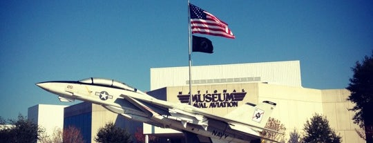 National Naval Aviation Museum is one of New Orleans..