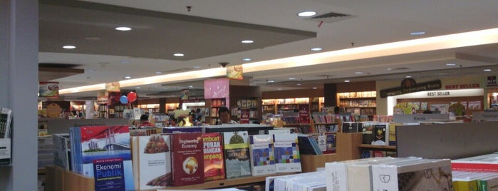 Gramedia is one of Must-visit in PVJ.