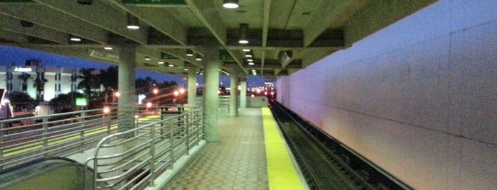 MDT Metrorail - Dadeland North Station is one of My favorite places :).