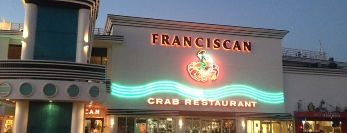 The Franciscan Crab Restaurant is one of Culiner.