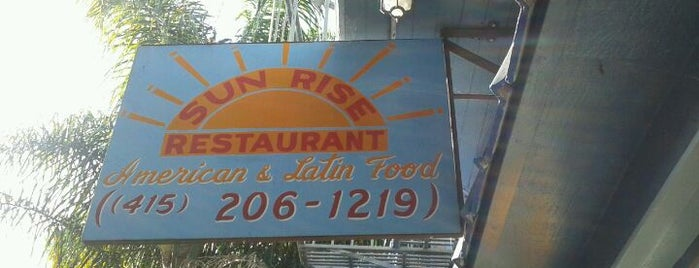Sun Rise Restaurant is one of Awesomest brunch places in the Mission.