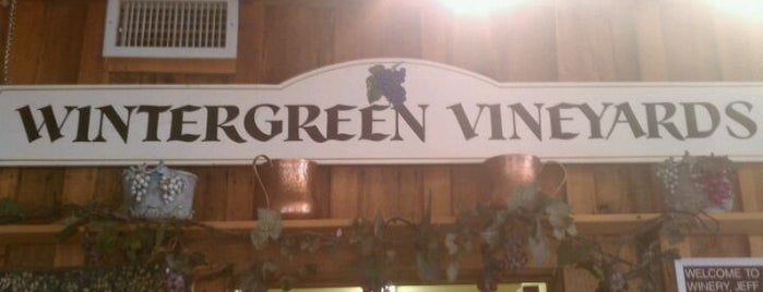 Wintergreen Winery is one of Monticello Wine Trail.