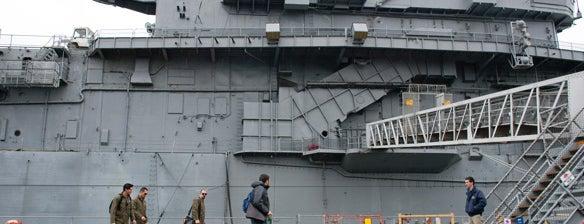 USS Hornet Museum is one of Ghost Adventures Lockdowns.
