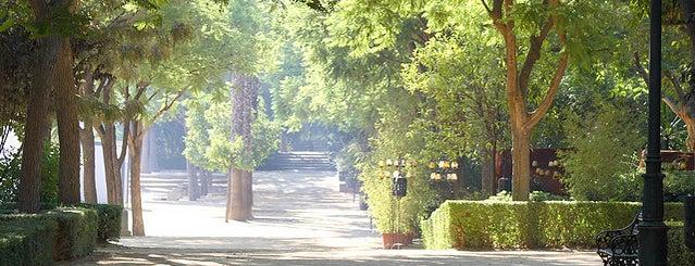 Prado de San Sebastián Gardens is one of 101 cosas que ver en Andalucía antes de morir.