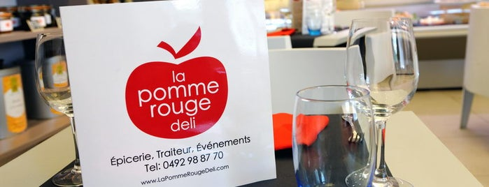 La Pomme Rouge Deli is one of FR2DAY's Favourite Cafés & Bars on the Côte d'Azur.