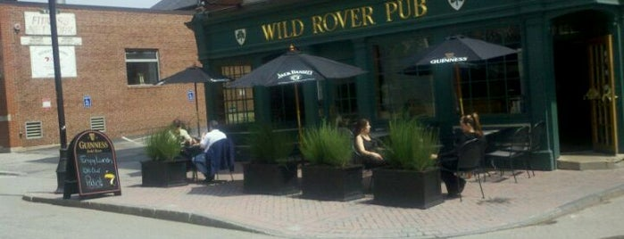 The Wild Rover Pub is one of Manchester, Downtown.