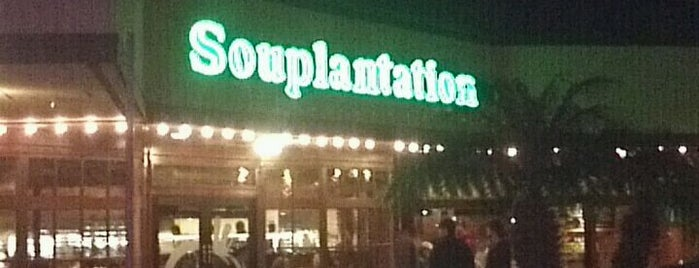 Souplantation is one of great places to eat a fast meal.