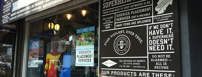 Brooklyn Superhero Supply Co. is one of YPG Cares.