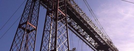 Puente Bizkaia is one of let's get Bilbao's badge (Spain) #4sqCities.