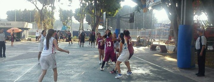 Canchas de Baloncesto, Del. Benito Juarez is one of En Coyo!.