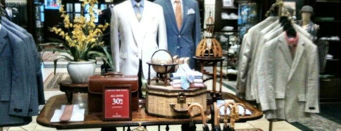 Brooks Brothers is one of New York ToDo.