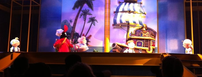 Disney Junior Live on Stage! is one of Disneyland: The Happiest Place on Earth.