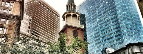 Old South Meeting House is one of Hub History.
