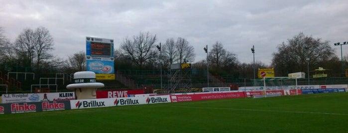 Preußenstadion is one of Stadiums.