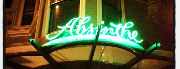 Absinthe Brasserie & Bar is one of SF Spots.