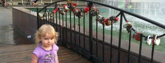 Мост Влюбленных is one of Лобня.