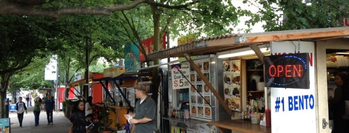 Alder Food Carts is one of My Saved Places.
