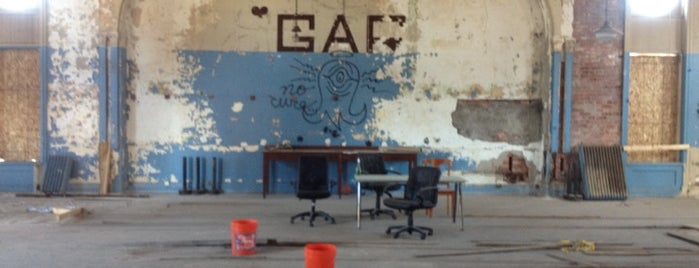 The GAR Building is one of Detroit in Ruins.
