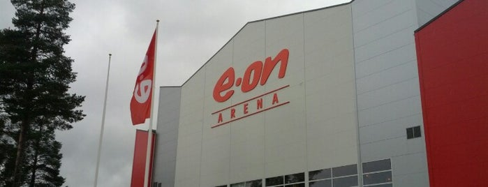 E.ON Arena is one of JYM Hockey Arenas TOP100.
