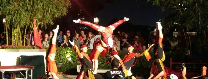 Jeweled Dragon Acrobats is one of Epcot World Showcase.
