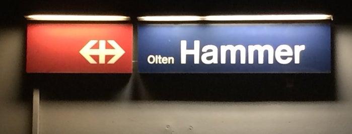 Bahnhof Olten Hammer is one of Bahnhöfe Top 200 Schweiz.