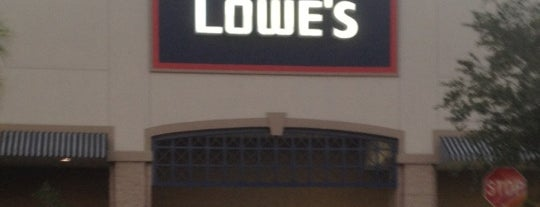 Lowe's Home Improvement is one of ftl.