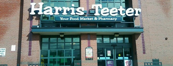 Harris Teeter is one of Frequent Spots.