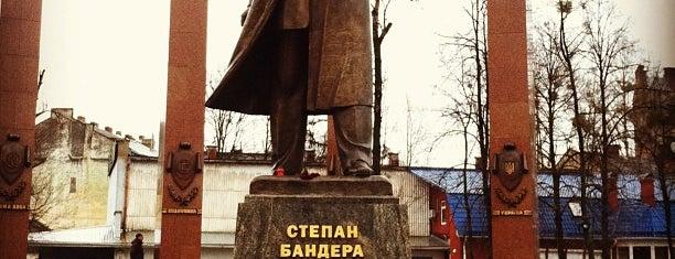 Пам'ятник Степанові Бандері is one of DebrA.