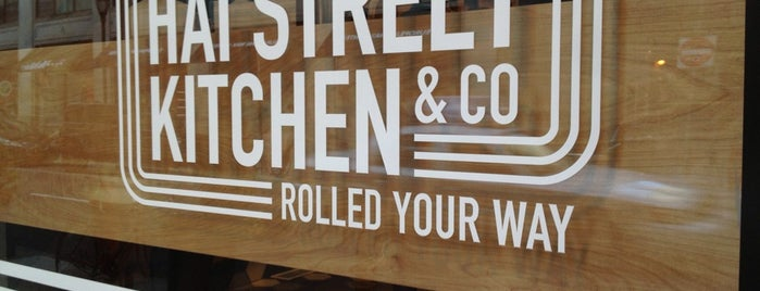 Hai Street Kitchen & Co. is one of Philadelphia.