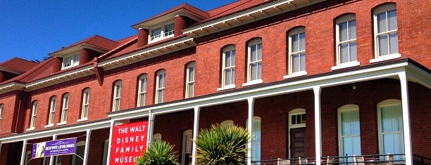 The Walt Disney Family Museum is one of SF.