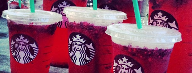 Starbucks is one of School places to conquer.