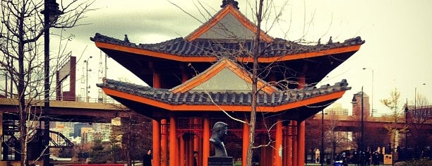 Ping Tom Memorial Park is one of Favorite Places in Chicago's Chinatown.