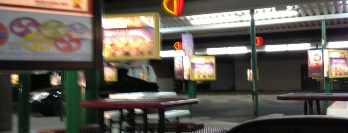 SONIC Drive In is one of places I been.