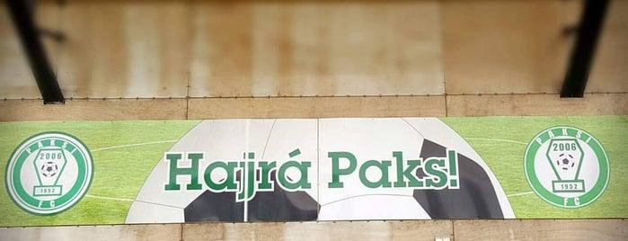 Paksi FC Stadion is one of Stadionok.