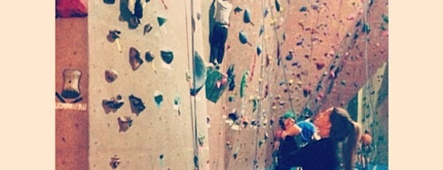 Hoosier Heights Indoor Rock Climbing is one of B-town for Kids.
