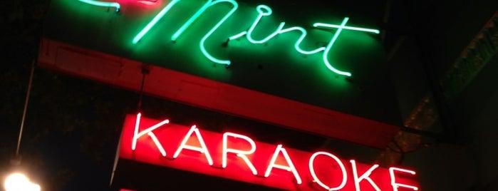 Mint Karaoke Lounge is one of Bar Spots.