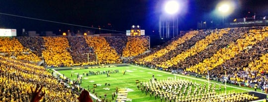 Kinnick Stadium is one of Big Ten Stadiums.