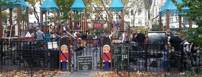 Police Officer Moira Ann Smith Playground is one of Best Spots for Kids - NYC.