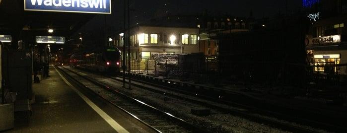 Bahnhof Wädenswil is one of Bahnhöfe Top 200 Schweiz.