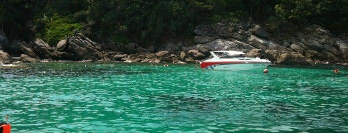 Siam Bay@Raya Island is one of My TripS :).