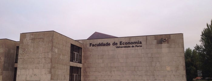 Faculdade de Economia da Universidade do Porto is one of Sítios que valem a pena ir no Grande Porto.