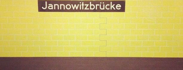 S+U Jannowitzbrücke is one of U-Bahn Berlin.